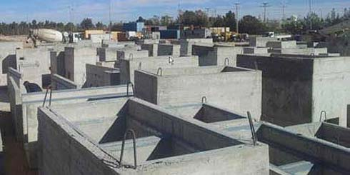 Precast Concrete Elements for Touatgaz Project